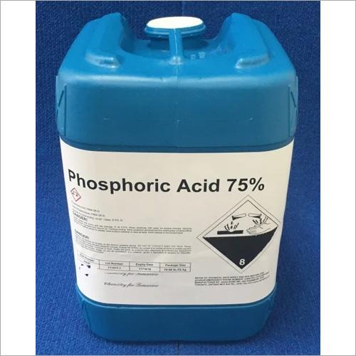 75 % Phosphoric Acid