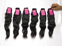 Top Quality Wholesale Price Single Donor Natural Wavy Bulk Human Hair Extension