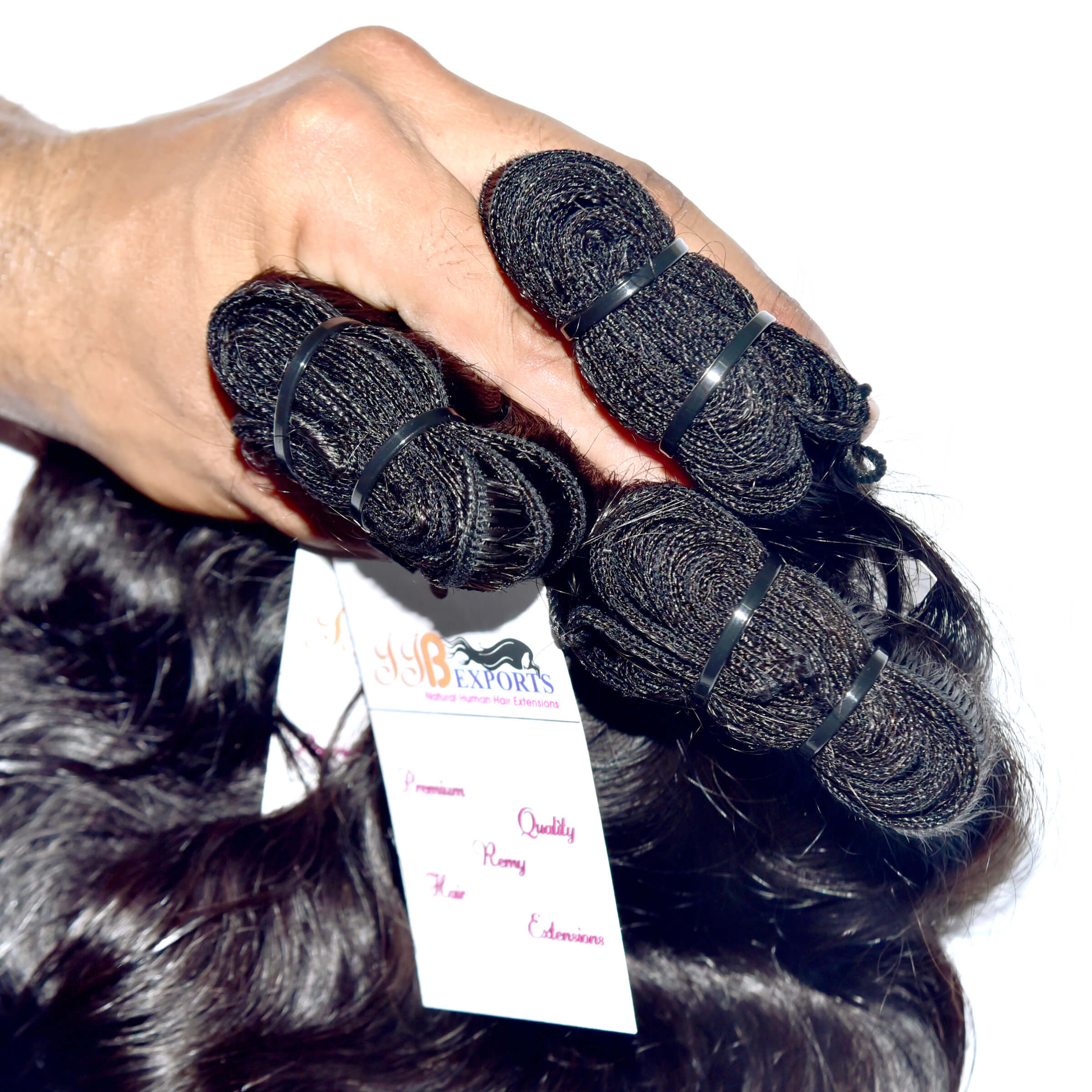 Raw mink Virgin Unprocessed Wavy Human Hair Extensions Products