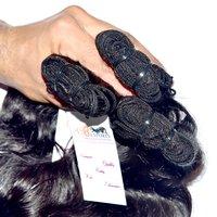Virgin Unprocessed Brazilian Double Weft Wavy Hair Extension