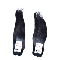 High Quality Natural Raw Virgin Unprocessed Mink Indian Machine Weft Straight Hair
