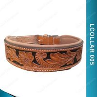 Fancy Leather Dog Collar