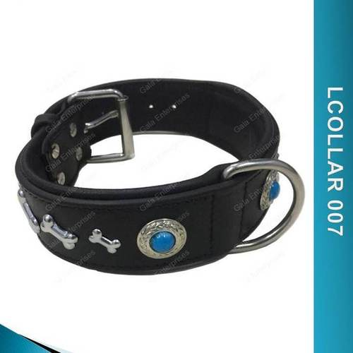 Leather Dog Collar - LCOLLAR 007