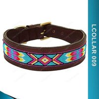 Beaded Dog Collar - Lcollar009