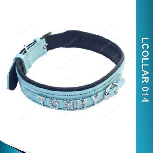 Leather Dog Collar With Name - Lcollar014