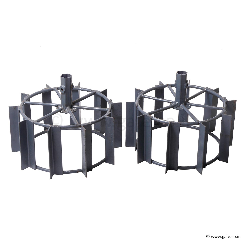 Gafe Iron & Paddy Wheel Set 17 Inch