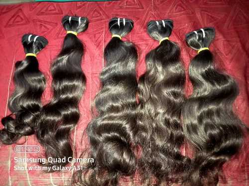 WITHOUT CHEMICAL PROCESS PURE INDIAN VIRGIN HUMAN HAIR