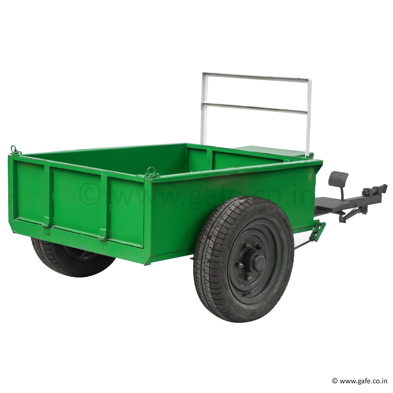 Gafe Trolley Attachment For Power Weeder Tiller, Capacity 500 Kg
