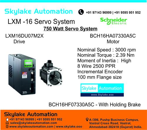 Lexium 16 Servo Motor BCH16HA07330A5C - 750 Watt