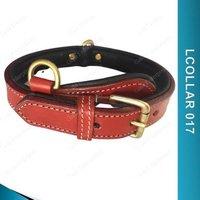 Dog Collar With Nameplate - Lcollar017