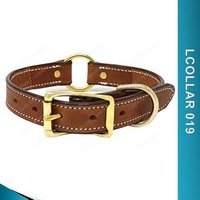 Custom Leather Dog Collars - Lcollar019
