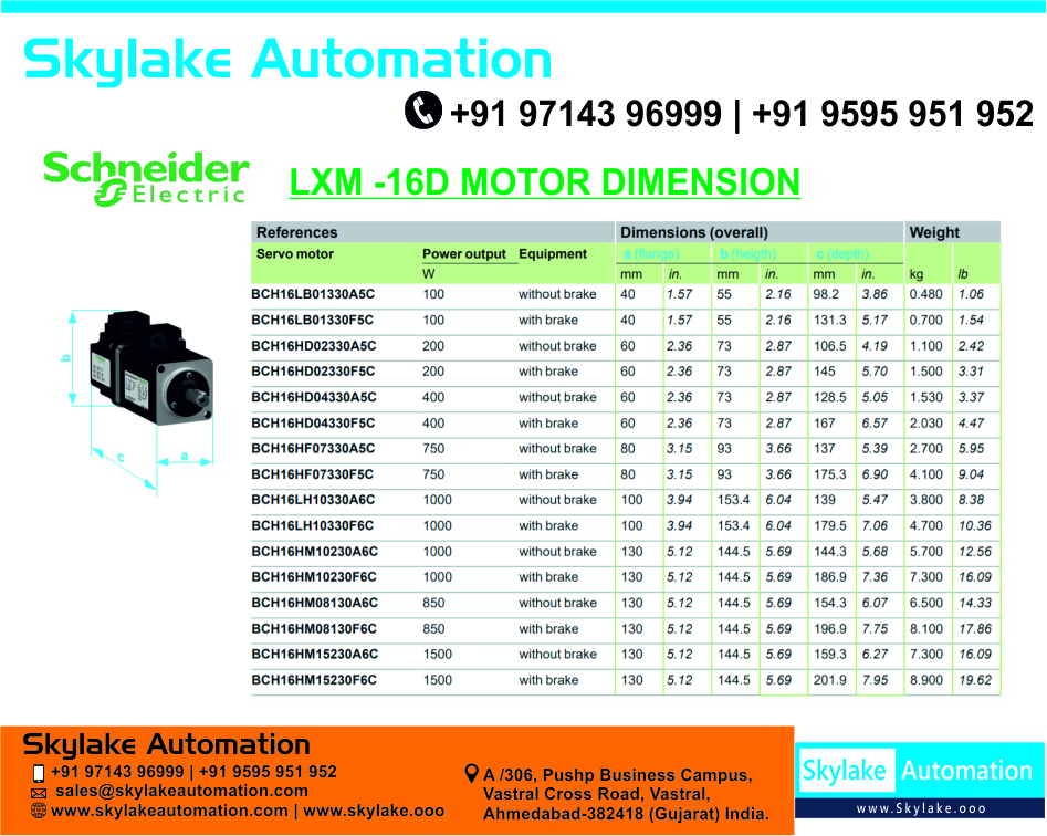 Lexium 16d Servo Drive Lxm16du10m2x - 1000 Watt