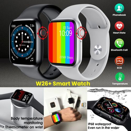 W26+ Rotate Button Smart Watch