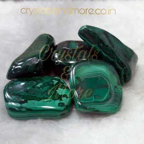 Malachite Tumbled Stone
