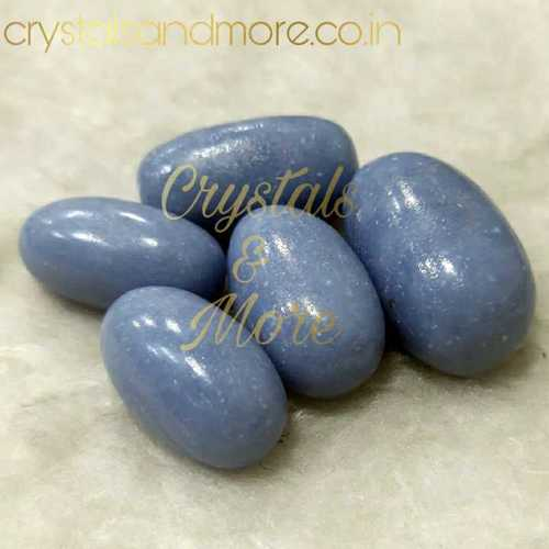 Blue lace agate Tumbled Stone