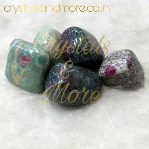 Ruby Kyanite Tumbled Stone
