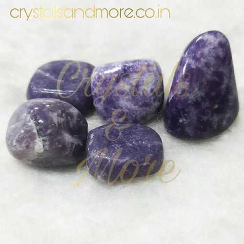 Lepidolite Tumbled Stone