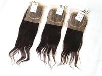 Raw Virgin Straight Hair 5x5 Transparent Lace Closure