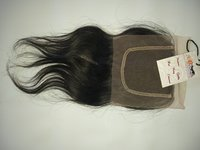 Natural Wavy Hair 4x4 Swiss Transparent Lace Closure