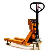 2500KG Pallet Truck With Weighing 2 Ton Hand Pallet Scale Truck