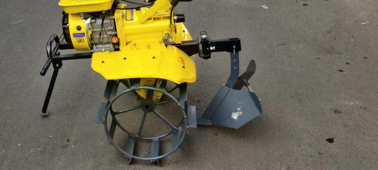 Kisankraft Power Weeder 205p, Petrol Engine 5 Hp, 4 Stroke