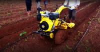 Kisankraft Power Weeder 406d, Diesel Engine 9 Hp, 4 Stroke