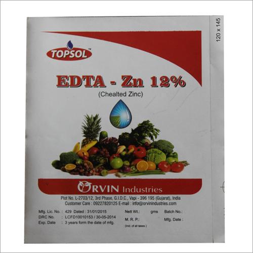 EDTA Zn- 12%