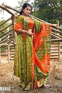 Bandhani  Sarees