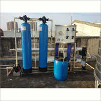 500 LPH Industrial Grade Water Softener Plant