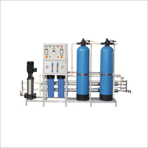 1000 LPH Industrial Grade Water Softner Plant