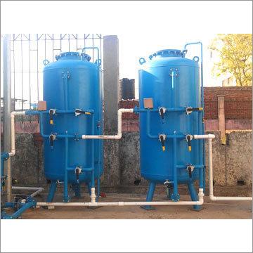 4000 LPH Industrial Grade Water Softner Plant