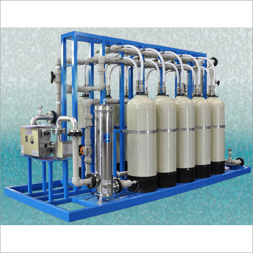 5000 LPH Industrial Grade Water Softener Plant