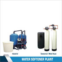 10000 LPH Industrial Grade Water Softener Plant