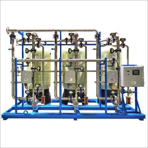 20000 LPH Industrial Grade Water Softener Plant