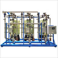20000 LPH Industrial Grade Water Softener Plant