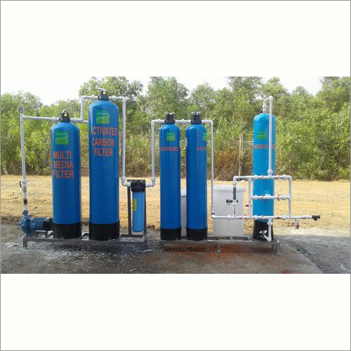 500 LPH Industrial Grade Water Demineralised (D. M) Plant