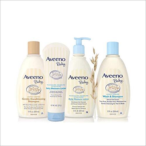 Aveeno Baby Shampoo Lotion and Conditioning