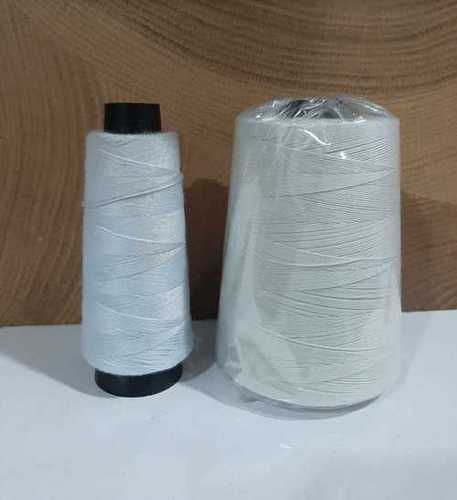 Polyester Bag Closing Threads White