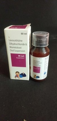 Levocetirizine Dihydrochloride And Montelukast Oral Suspension