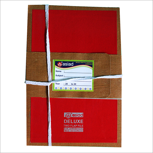 Deluxe Two Flap File