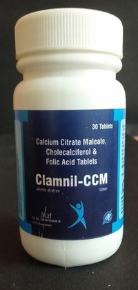 Calcium Citraate Maleale,cholecalciferol And Folic Acid Tablet