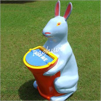 Rabbit Dustbin