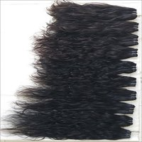 Temple Donated Single Donor Curly Hair Extensions,double Machine Weft