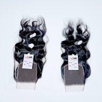 Natural Raw Wavy Hair Thin HD Lace Closure