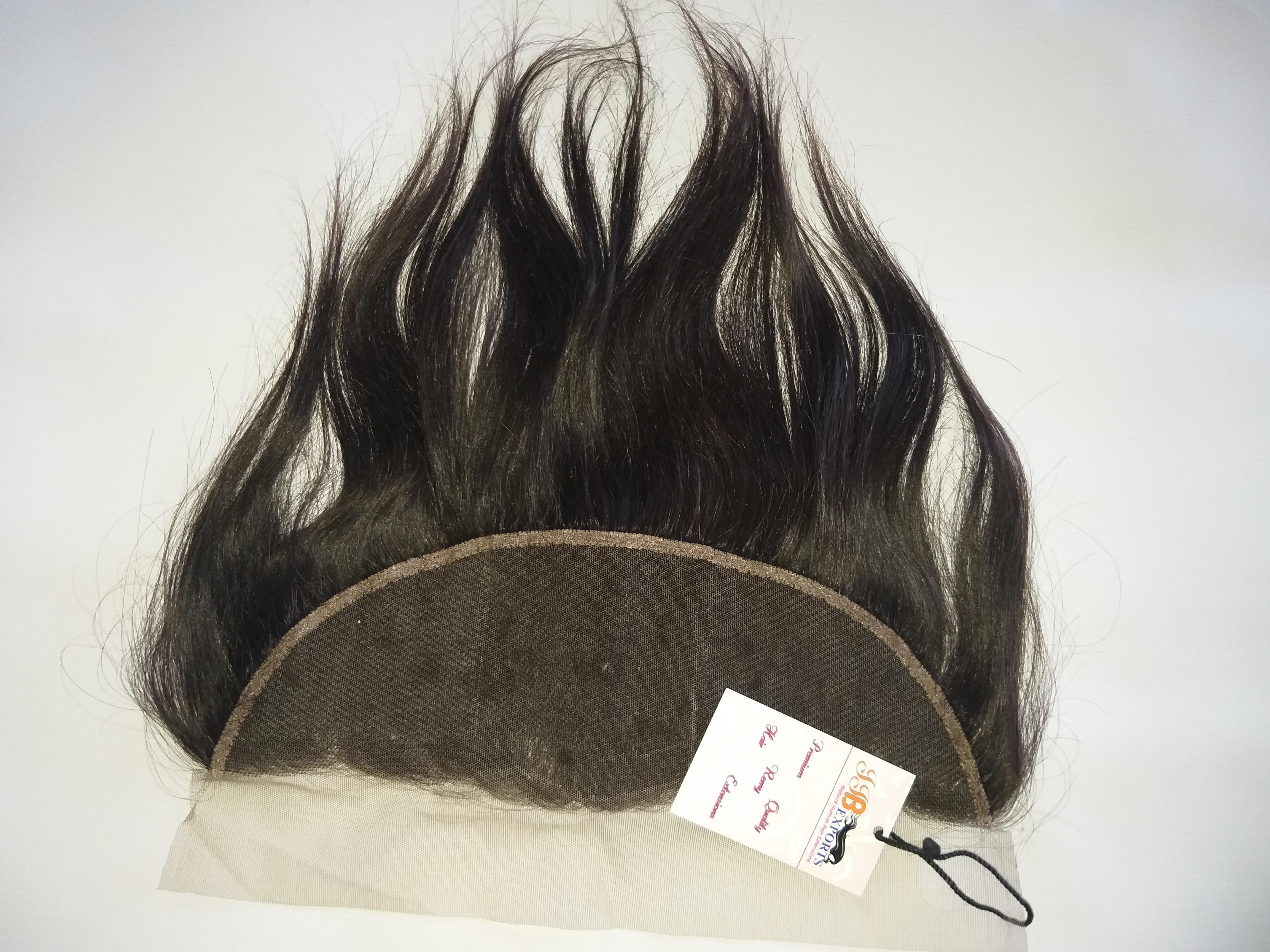 Natural Remy Virgin Hair Swiss Thin Hd Frontal Closure