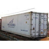 Refrigerated Shipping Container On Rent