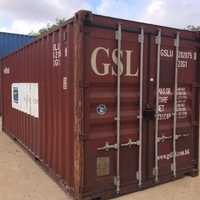 Dry Used Shipping Container 20'F