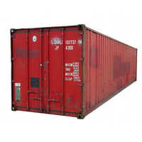 Galvanized Steel Export Shipping Container 40'HC