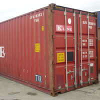 Dry Transportation Shipping Container