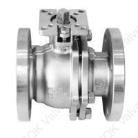 A217 WC9 Cast Alloy Steel Ball Valve